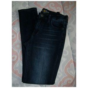 Lucky Brand Jeans - Lucky Brand Brooke LEGGING Skinny Dark Jeans 2/26a